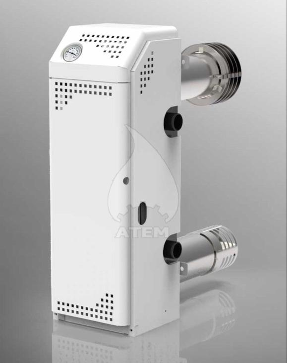 Газовый котел парапетный АТЕМ Житомир-М АОГВ-10Н двухтрубный. Фото 7